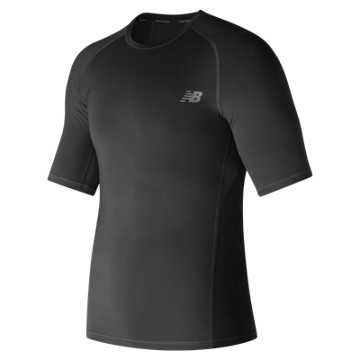 New Balance Challenge Short Sleeve, Black