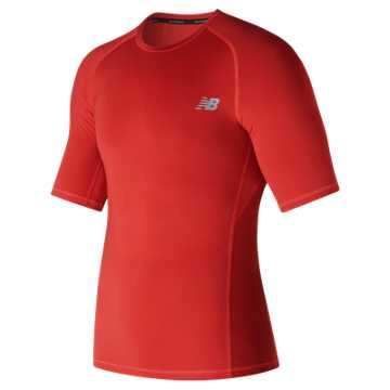New Balance Challenge Short Sleeve, Red Pepper