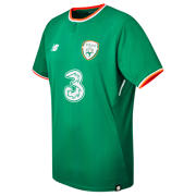 New Balance FA Ireland Mens Home SS Jersey, Jolly Green