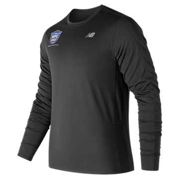 New Balance United Airlines NYC Half Training Accelerate Long Sleeve, Black