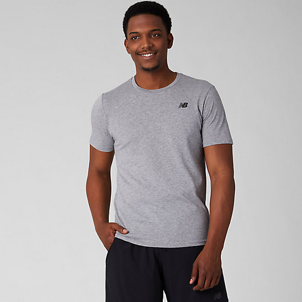 New Balance Heather Tech Short Sleeve, MT73080AG