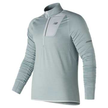 New Balance NB Heat Half Zip, Artic Fox Heather
