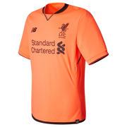NB LFC Mens Coutinho 3rd Short Sleeve EPL Patch Shirt, Bold Citrus
