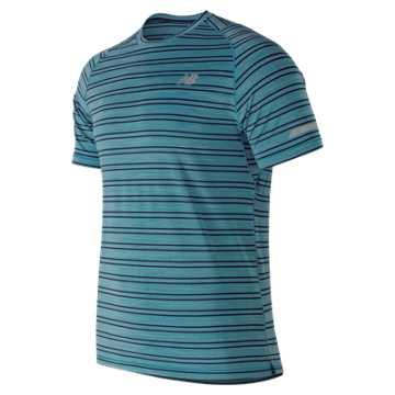 New Balance Seasonless Short Sleeve, Cadet Heather