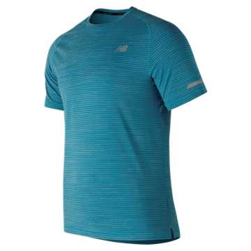 New Balance Seasonless Short Sleeve, Maldives Blue