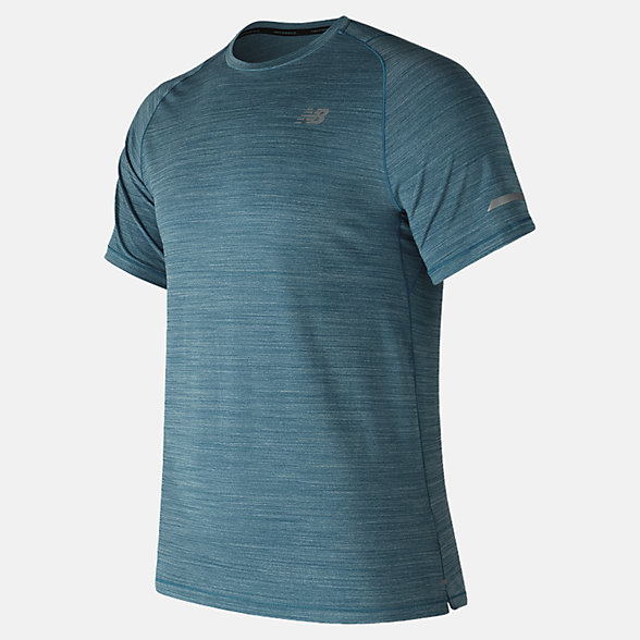 New Balance Seasonless Short Sleeve, MT73233MCH