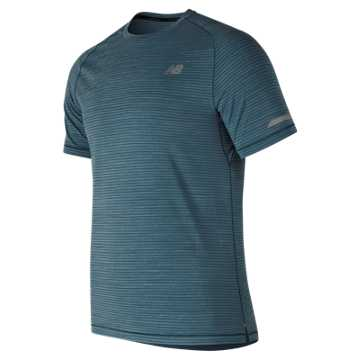New Balance Seasonless Short Sleeve, Blue