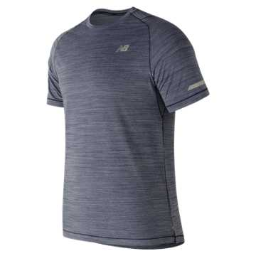 New Balance Seasonless Short Sleeve, Pigment Heather