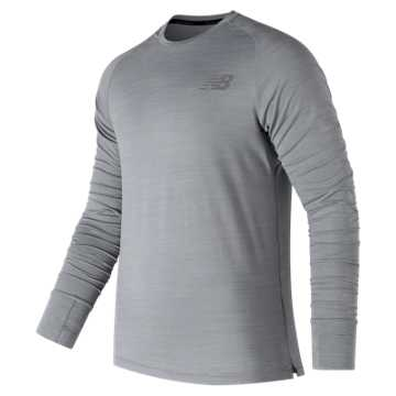 New Balance Seasonless Long Sleeve, Athletic Grey