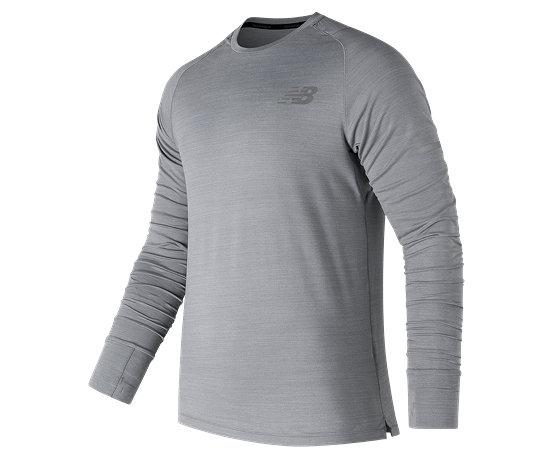 c3f3afd385c55 NB Seasonless Long Sleeve, Athletic Grey