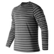 NB Seasonless Long Sleeve, Black Heather