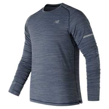 New Balance Seasonless Long Sleeve, Techtonic Blue