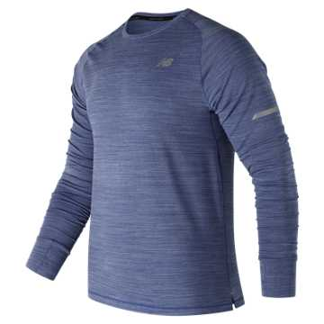 New Balance Seasonless Long Sleeve, Team Royal Heather