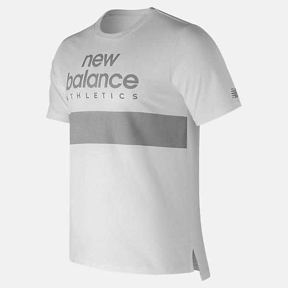 New Balance NB Athletics Reflective Tee, MT73510WT