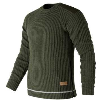New Balance Re-Engineered Sweater, Military Dark Triumph