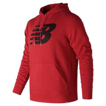 New Balance Essentials Pullover Hoodie, Red Pepper
