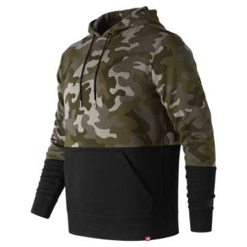 New Balance Essentials Pullover Hoodie, Camo Green