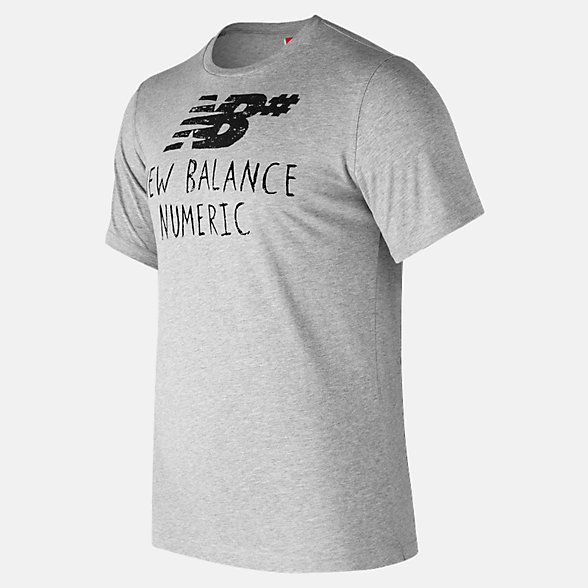 New Balance NB Numeric Hand Drawn Tee, MT73572AG