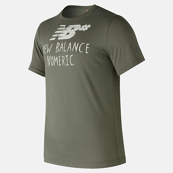 New Balance NB Numeric Hand Drawn Tee, MT73572MFG