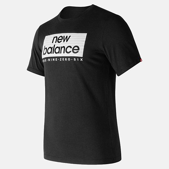 New Balance Essentials Boxer Tee, MT73595BK