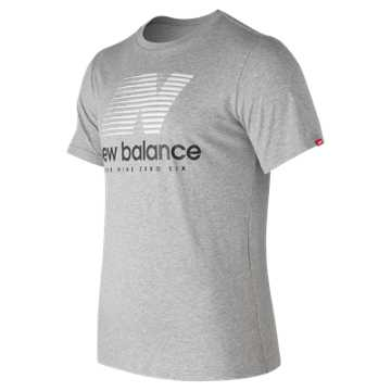 New Balance Essentials Speed Tee, Athletic Grey