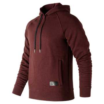 New Balance MiUSA Pullover, Chocolate Cherry