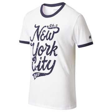 New Balance NYC Marathon Vintage NYC Ringer, White