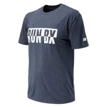 New Balance Bronx 10 Mile Bronx Run Tee, Navy
