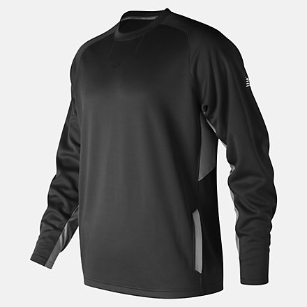 New Balance Baseball Pullover 2.0, MT73707TBK image number null