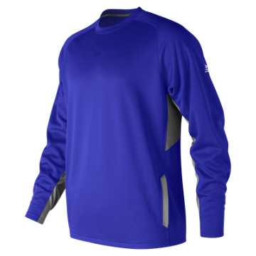 New Balance Baseball Pullover 2.0, Team Royal