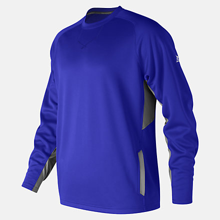 New Balance Baseball Pullover 2.0, MT73707TRY image number null