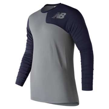 New Balance Seamless Asym Left, Team Navy