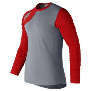 New Balance Seamless Asym Right, Red Pepper
