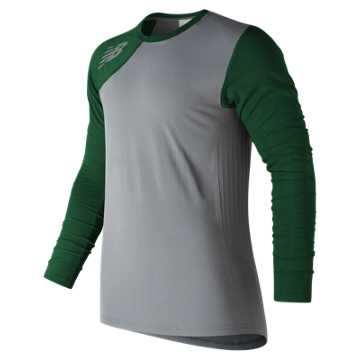 New Balance Seamless Asym Right, Team Dark Green