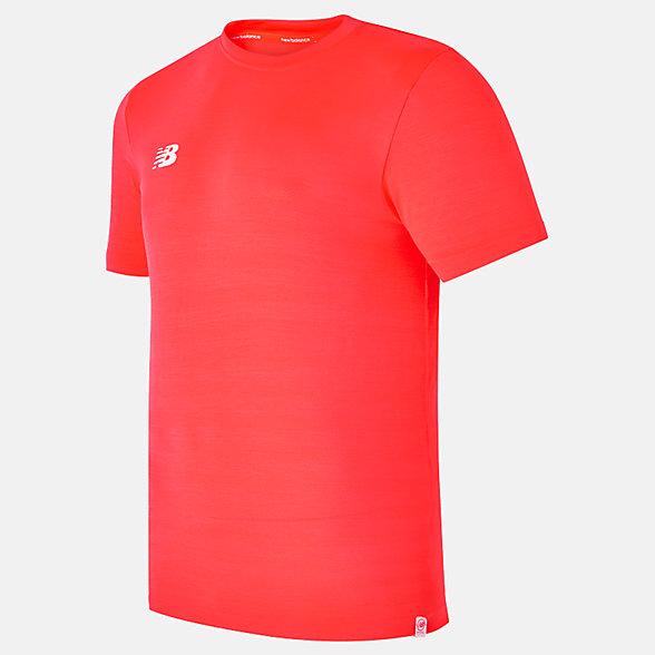 New Balance Pinnacle Tech Training Short Sleeve Jersey, MT810201FLM