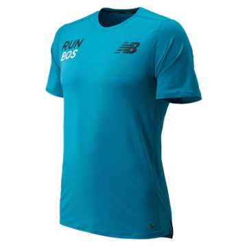 New Balance Boston Tee, Maldives Blue