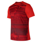 NB Printed Max Intensity Short Sleeve, Flame