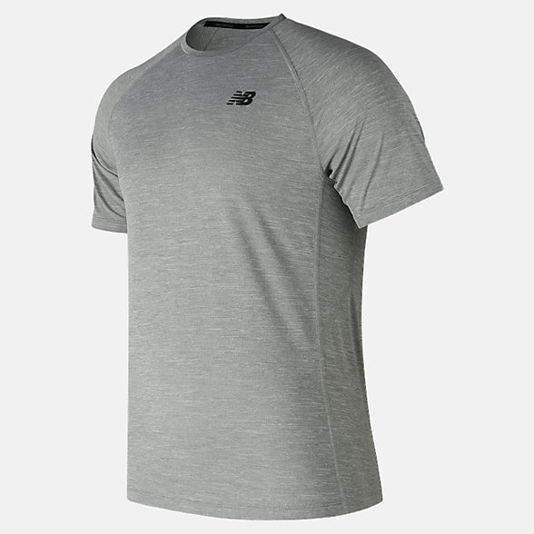 New Balance Tenacity Short Sleeve, MT81095AG