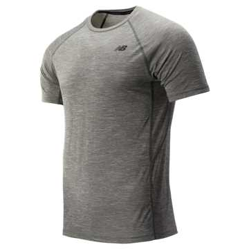 New Balance Tenacity Short Sleeve, Slate Green
