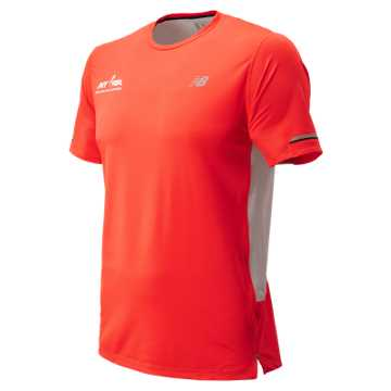New Balance Run for Life NB Ice 2.0 Short Sleeve, Flame