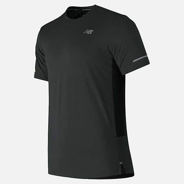 NB NB Ice 2.0 Short Sleeve, MT81200BK