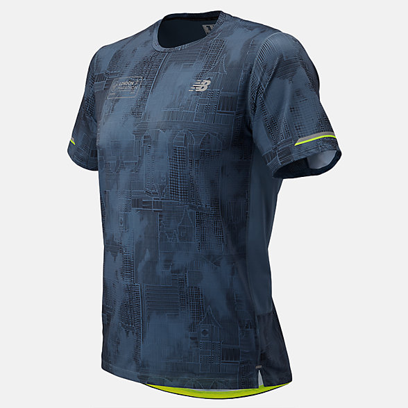NB London Edition NB Ice 2.0 Short Sleeve Print , MT81201DDPE