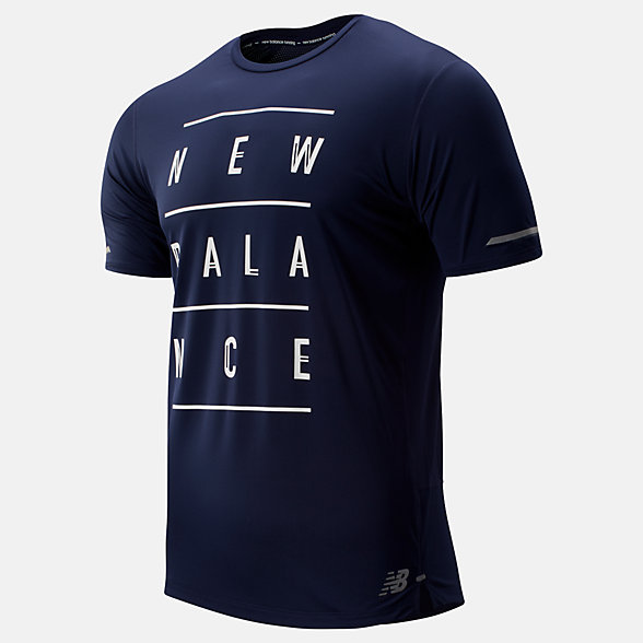 New Balance Printed NB Ice 2.0 Short Sleeve, MT81201PGP