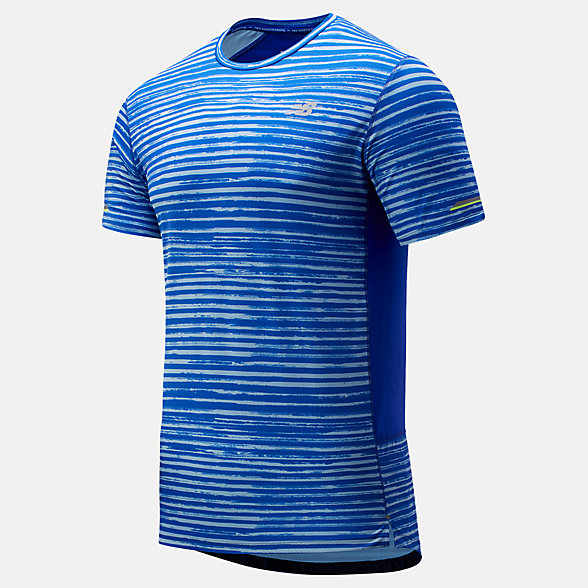 NB Printed NB Ice 2.0 Short Sleeve, MT81201UVB