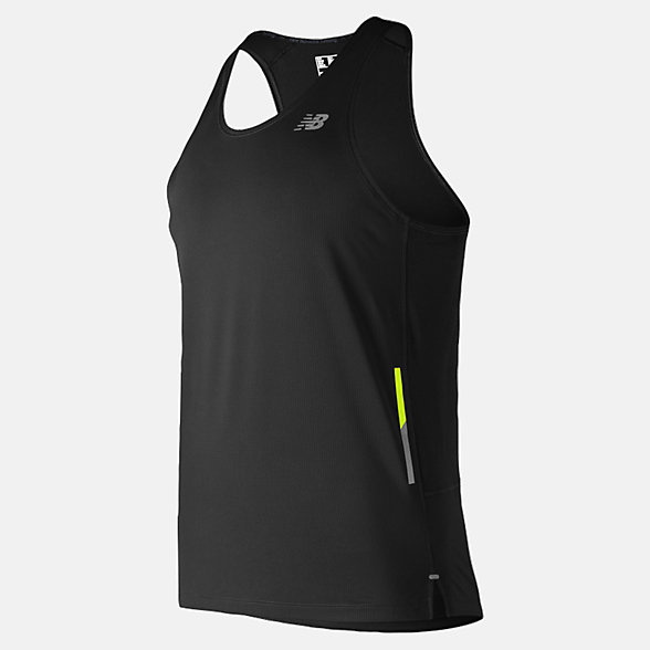 New Balance Singlet NB Ice 2.0, MT81222BK