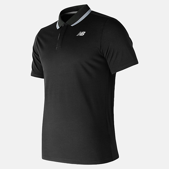 New Balance Rally Classic Polo, MT81415BK
