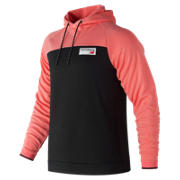 New Balance NB Athletics Pullover, Fiji with Black