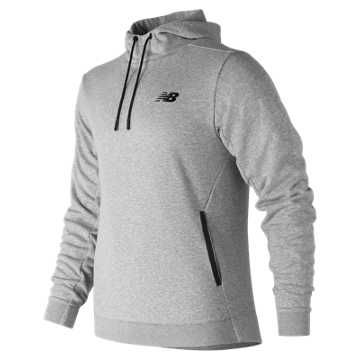 New Balance 247 Sport Hooded Pullover, Athletic Grey