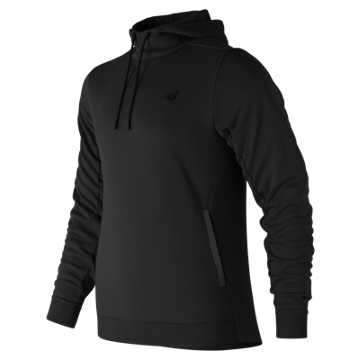 New Balance 247 Sport Hooded Pullover, Black