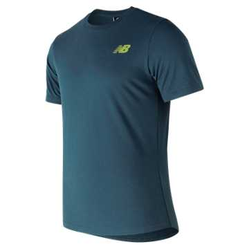New Balance 247 Sport Time Tee, North Sea
